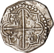 8 Reales - Philip III – reverse
