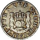 ½ Real - Carlos III – reverse