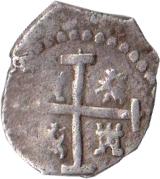 ½ Real - Philip III – reverse