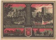 75 Pfennig (Stadtsparkasse) – reverse