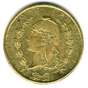 1 Franc (Bône Chamber of Commerce) – obverse