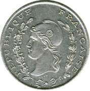 50 Centimes (Bône Chamber of Commerce; Essai) – obverse