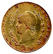 50 Centimes (Bône Chamber of Commerce) – obverse