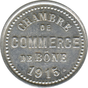 5 Centimes (Bône Chamber of Commerce) – obverse