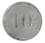 10 Сentimes - Bone chambre de Commerce – reverse