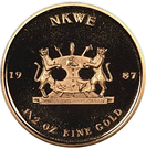 Nkwe (10 Years of Independence) – reverse