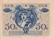 50 centimes - Chambres de Commerce de Bordeaux – reverse