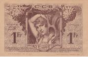 1 Franc - Chambres de Commerce de Bordeaux – reverse