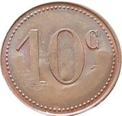 10 Centimes - Nouvelles galeries (Bordeaux) – reverse