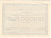 500,000 Mark (Braunkohlenwerke Borna) -  reverse