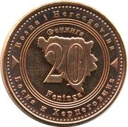 20 Feninga -  reverse