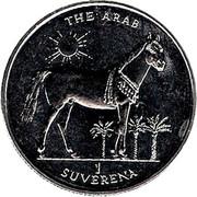 1 Suverena (The Arab) – reverse