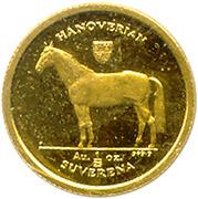1/25 Suverena (Hannoverian) – reverse