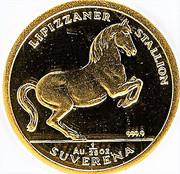 1/25 Suverena (Lipizzaner Stallion) – reverse