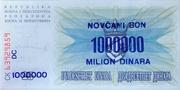 1,000,000 Dinara – reverse