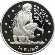 14 Euro (The Tree of Stability) – reverse