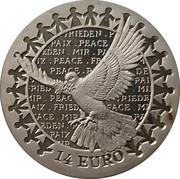 14 Euro (Peace) – reverse