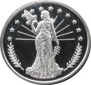 14 ECUS (Peace - Allegorical Europa) – reverse