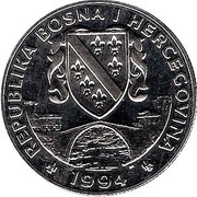 500 Dinara (Black Bear) – obverse