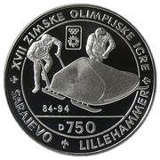 750 Dinara (Olympics - Bobsled) – reverse
