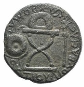 Bronze Æ27 - Sauromates I – obverse