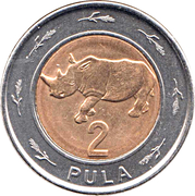 2 Pula -  reverse