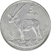 5 Pula (Gemsbok) – reverse