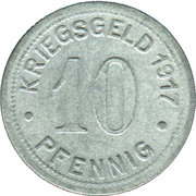 10 Pfennig - Bottrop – reverse