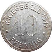10 Pfennig - Bottrop -  reverse