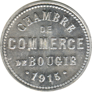 10 Centimes (Bougie Chamber of Commerce) – obverse
