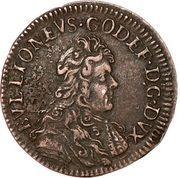 Double - Maurice de la Tour d'Auvergne – obverse