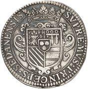 Ecu - Henri de la Tour d'Auvergne -  reverse