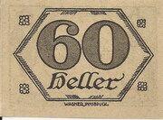 60 Heller (Brandenberg in Tirol) – reverse