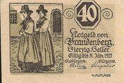 40 Heller (Brandenberg in Tirol) – obverse