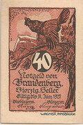40 Heller (Brandenberg in Tirol) -  obverse