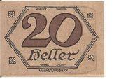 20 Heller (Brandenberg in Tirol) – reverse