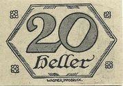 20 Heller (Brandenberg) – reverse