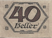40 Heller (Brandenberg) – reverse