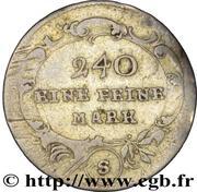 5 Kreuzer - Christian Friedrich Karl Alexander (Schwabach) – reverse