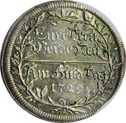 2 Groschen - Karl Wilhelm Friedrich – reverse