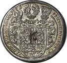 1 Thaler - Friedrich II Albrecht – reverse