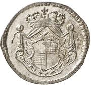 1 Pfennig - Christian Friedrich Karl Alexander – obverse