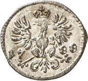 1 Pfennig - Christian Friedrich Karl Alexander – reverse