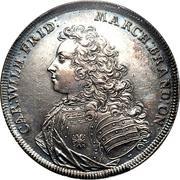 1 Thaler - Karl Wilhelm Friedrich (Accession) – obverse