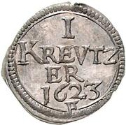 1 Kreuzer - Joachim Ernst – reverse