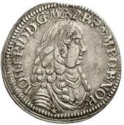 ⅓ Thaler - Johann Friedrich – obverse