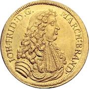 2 Ducat - Johann Friedrich – obverse