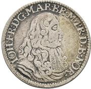 ⅙ Thaler - Johann Friedrich – obverse