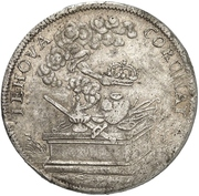 ⅔ Thaler - Johann Friedrich – reverse