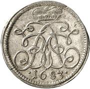1 Kreuzer - Johann Friedrich – obverse